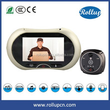 real time video talking hidden door wireless camera,smart home products digital door eye anytime anywhere