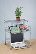 Chrome DIY Table Wire Display Rack