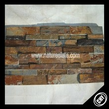 natural rusty slate, multicolor slate stack stone