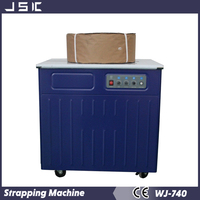 good quality double motor semi-auto strapping machine