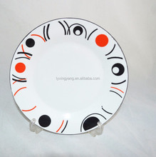custom printed ceramic dinner plate,ceramic dishes plate , printing ceramic plates dishes