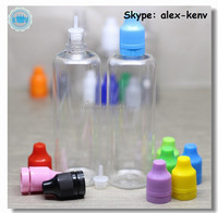 New arrival 100ml PET dropper bottle for e juice with childproof and tamper ring cap