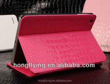 Sexy Red leather case for ipad mini,for ipad mini leather case