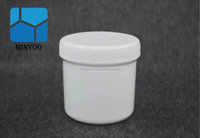 2015 Luxury Makeup Jar 500ml Hair Product Containers Cosmetic Packaging Plastic Masking Jar 500g