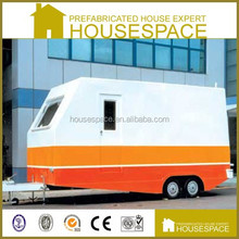 Low Cost Customized Flat Pack Container House with Wheels for Sale