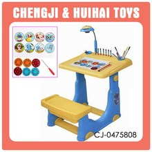 Newest smart pp material projection children study desk