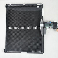 Brand new 100% real carbon fiber case for ipad 3