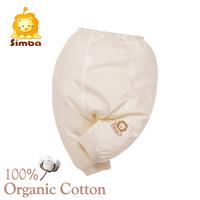 Simba 100% GOTS Organic Cotton Winter Newborn Pant Organic Baby Clothes (70cm)