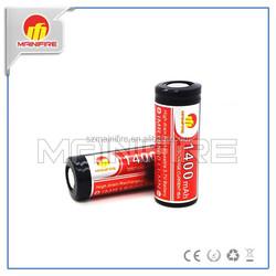 li-ion battery 3.7v 1800mah 1650mah 1300mah from China factory