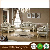Latest design american style living room fabric sofas TRSO-844
