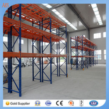 Heavy Duty Economical Blue and Orange Pallet Racking