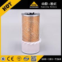 Excavator original part PC300-7 air filter 600-181-7360 Best quality aftermarket