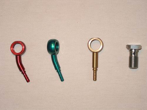 Colorful banjo fittings for motorcycles buy motorcycle