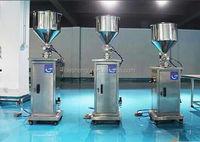 high quality piston filler for semi automatic pneumatic viscous liquid filling machine
