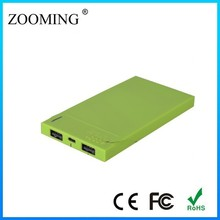 20000mAh Shake External Battery Mobile Phone Charger Mini Solar Power Station for iPad Air