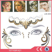 Party decoration Wonderful sexy face art decor,smile face stickers