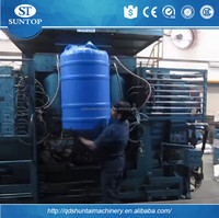 water tanks prices//Internationally fully automatic PE PET plastic 200L water tank blow moulding machine with competitive price
