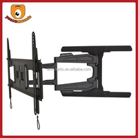Full Motion VESA 400x600 Angle adjustable top sell super slim monitor mount for most 32-65 Inches Flat Screen