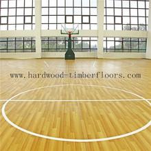 Foshan Factory Maple basketball court wood flooring