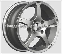 1/8 rc make aluminum car wheels 18 inch black chrome alloy wheels(ZW-L011)