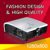 Multimedia LED TV Video Projector Home Theater Movies Beamer With USB Audio Out HDMI AV PC Full HD Proyectors
