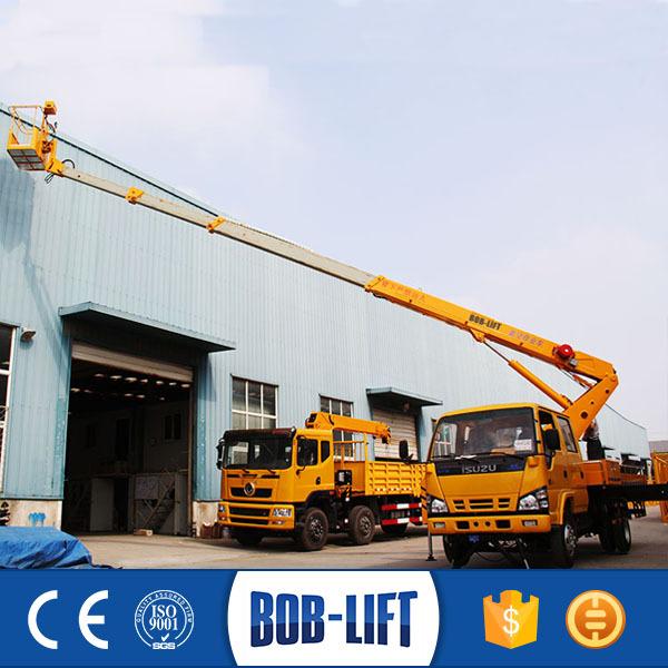 Tractor Hydraulic Boom Crane : Manufacturer hydraulic boom crane telescopic man lift