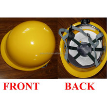 Industrial HDPE construction safety mini carbon fiber hard hat