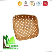 Storage Basket in Bamboo