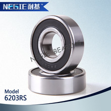 China supplier cixi negie factory made high speed precision motorcycle bearing 6203