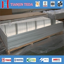polished marine aluminum plate price (5052 5754)