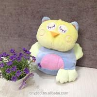 Stuffed Sitting High 20cm Sleeping Owl/Plush Owl Toy with Eyes Closed/Lovely Owl Plush Animal toy