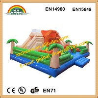 Giant Dragon house inflatable bounce house fun park