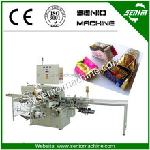 New Condition High speed Automatic SM310 square chocolate folded wrapping machine