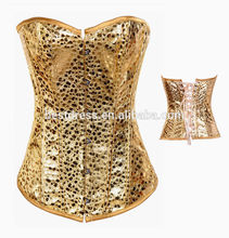 "fajas instyles butt lifter <span class=""wholesale_product""></span> GOLD LINGERIE STAIN CORSET"