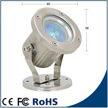 12V MR16 halogen led underwater light for square