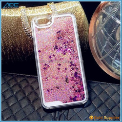 Wholesale Bling Stars Liquid Novelty Colourful Moving Glitter Case for iPhone 6 6plus 5s