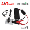 new design 12000mAh rechargeable car battery power bank jump start battery with SOS flashlight