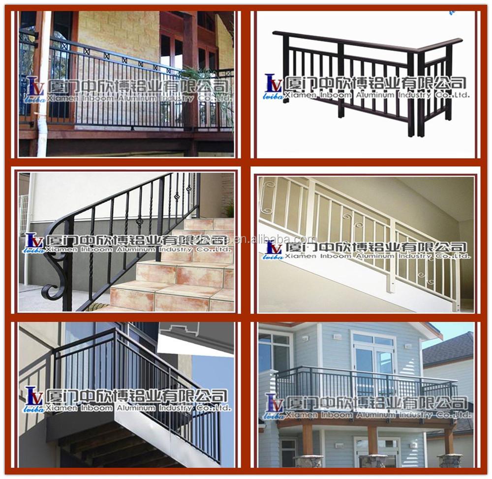 2014 Modern Terrace Railing Designs Aluminium Terrace