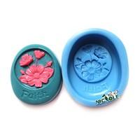 R01288 Nicole custom Faith silicone soap molds
