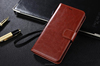 Factory supply Luxury leather case for Samsung S6 cover with stand