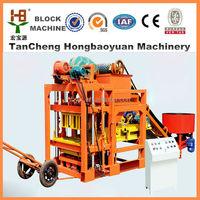 paver machine for road construction/unburned brick production line QTJ4-28/paving stone moulding machine