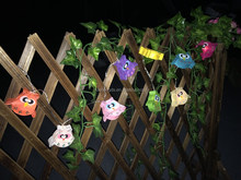 CE/ROHS 2016 new product custom Paper 20L Animals LED Lanterns String Lights/Fairy/Lamp Handmade For Home Decoration/Lighting