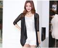 2015 nuevo diseño blusa de gasa de diseño de la camisa y faldas blusa