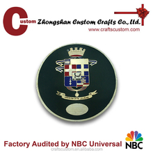 Custom enamel cheap custom challenge coin/metal souvenir