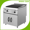 Modular kitchen equipment Gas lava rock grill teppanyaki table