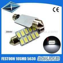 39mm Taiwan Epistar Chips 5730 c5w Festoon led light for Car
