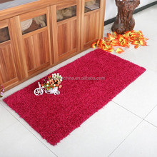 Shaggy carpet wholesaler,moquette door carpet,kids room rugs