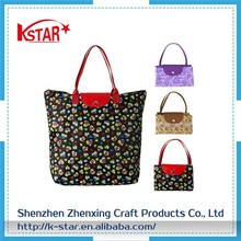 Mesh shopping Large shopping mesh nylon foldable bag