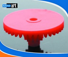 0.4 modulus gear bag colored plastic gears Hexagonal hole 40-1.8A 40 tooth aperture:1.8mm