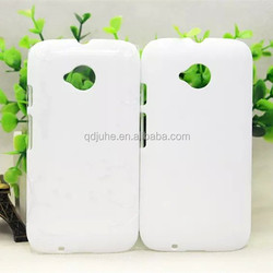 High quality 3D blank sublimation cell phone cover for MOTO E second generation